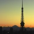 今日の主役は富士山です